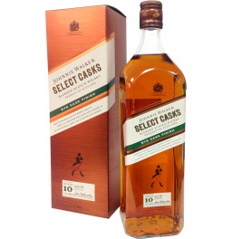"Виски Johnnie Walker, ""Select Casks"" Rye Cask Finish, 10 Years Old, gift box, 1 л"