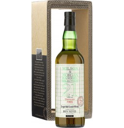 "Виски Wilson & Morgan, ""Ben Nevis"" Sherry Wood 21 Years Old, 1995, gift box, 0.7 л"