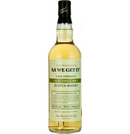 "Виски ""As We Get It"" Islay Single Malt, 0.7 л"