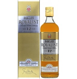 "Виски ""Barclays"" Royalist 12 Years, gift box, 0.7 л"