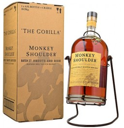"Виски ""Monkey Shoulder"", gift box with cradle, 4.5 л"