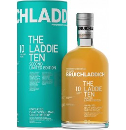 "Виски Bruichladdich, ""The Laddie"" 10 Years Old, Second Limited Edition, in tube, 0.7 л"