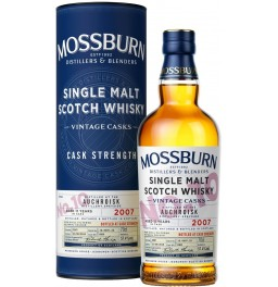 "Виски Mossburn, ""Vintage Casks"" No.10 Auchroisk, 2007, in tube, 0.7 л"