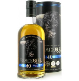 "Виски ""Black Bull"" 40 Years Old, Blended Scotch Whisky, gift box, 0.7 л"