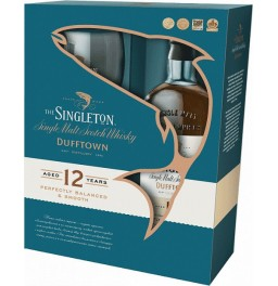 "Виски ""Singleton"" of Dufftown, 12 Years Old, gift box with 2 glasses, 0.7 л"