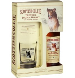 Виски Scottish Collie, gift box and glass, 0.5 л