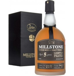 "Виски ""Millstone"" Lightly Peated, 5 Years Old, gift box, 0.7 л"