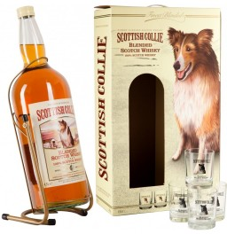 Виски Scottish Collie, Pouring Stand+4 glasses, 4.5 л