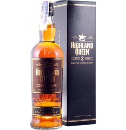 "Виски ""Highland Queen"", 8 Years Old, gift box, 0.75 л"