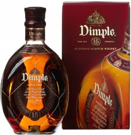 "Виски ""Dimple"" 15 Years Old, gift box, 0.7 л"