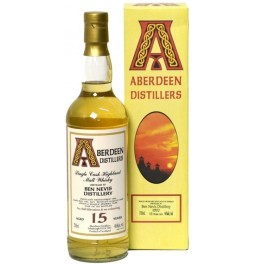 "Виски ""Aberdeen Distillers"" Ben Nevis 15 Years Old, 1992, gift box, 0.7 л"