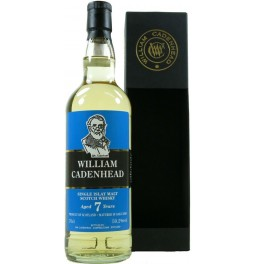 Виски William Cadenhead, Islay Single Malt 7 Years Old, gift box, 0.7 л