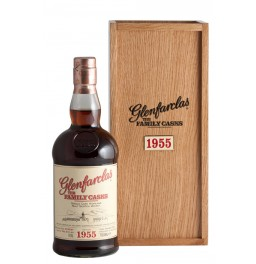 "Виски Glenfarclas 1955 ""Family Casks"" (45,4%), in wooden box, 0.7 л"