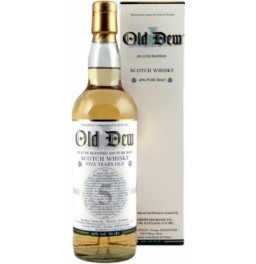 Виски Old Dew 5 years, gift box, 0.7 л