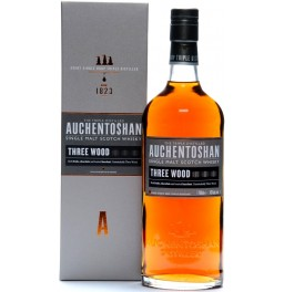 "Виски Auchentoshan, ""Three Wood"", gift box, 0.7 л"