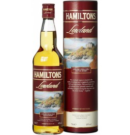 "Виски ""Hamiltons"" Lowland Single Malt, in tube, 0.7 л"