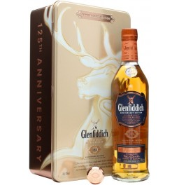 Виски Glenfiddich, 125th Anniversary Edition, metal box, 0.75 л