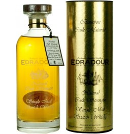 "Виски ""Edradour"" Bourbon Cask Matured (59,8%), 2006, in tube, 0.7 л"