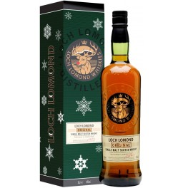 "Виски Loch Lomond Single Malt, gift box ""New Year Design"", 0.7 л"