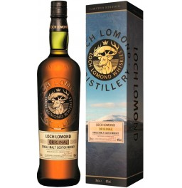 "Виски Loch Lomond Single Malt, gift box ""Winter Lake"", 0.7 л"