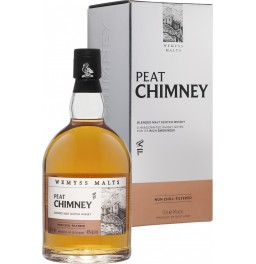 "Виски ""Peat Chimney"" Blended Malt, gift box, 0.7 л"