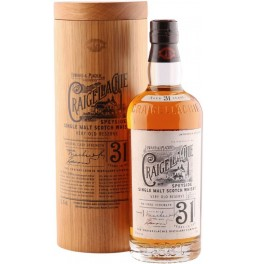 "Виски ""Craigellachie"" 31 Years Old, in wooden tube, 0.7 л"