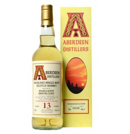 "Виски ""Aberdeen Distillers"", Dailuaine 13 Years Old, gift box, 0.7 л"
