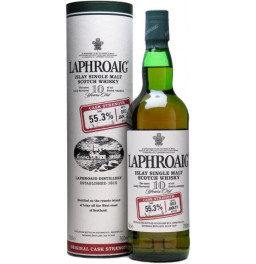"Виски ""Laphroaig"" 10 Years Old Cask Strength, in tube, 0.7 л"