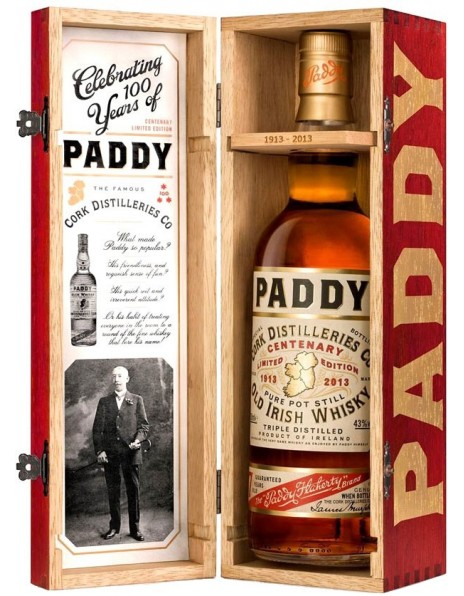 "Виски ""Paddy"" Centenary Limited Edition, wooden box, 0.7 л"